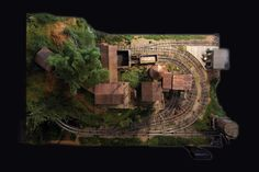 Spruce Coal Company - On30 - Model Railroad Forums - Freerails N Scale Model Trains, Model Train Layouts, Scale Models, Diorama, Train Info, Model Magic, Planer, Scenery, Landscape