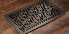 Cast Aluminum: Victorian - HVAC Grilles - Wall/Ceiling/Floor - Pacific Register Company Wood Floor Finishes, Victorian Pattern, Animal Print Rug, It Cast, Ceiling, Flooring, Townhouse, Wall, Tiling