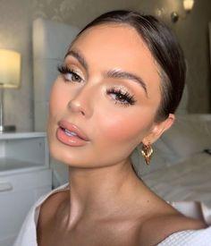 Natural Glam Makeup, Glam Makeup Look, Makeup Eye Looks, Bridal Hair And Makeup, Bride Makeup, Wedding Hair And Makeup, Pretty Makeup, Skin Makeup, Flawless Makeup