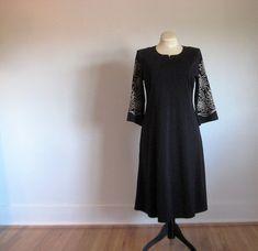 bob macke dress // little black dress // size medium dress