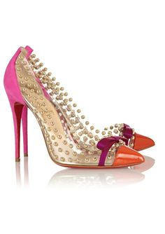 Christian Louboutin - exquisite detail.