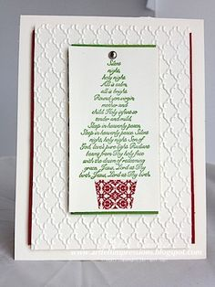 Silent Tree by pdncurrier - Cards and Paper Crafts at Splitcoaststampers