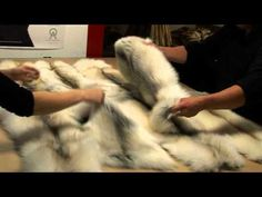 Experience the Creation of a Fur Blanket in our own Workshop