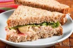 Receita de Sanduíche de kani kama em receitas de paes e lanches, veja essa e outras receitas aqui!