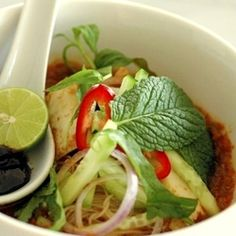Assam Laksa - a Penang specialty dish!