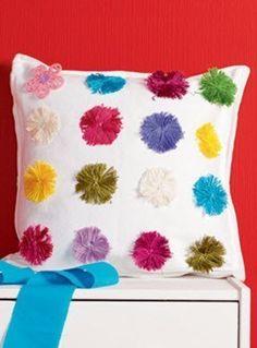 Идея декора подушки - Декор
