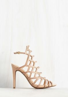 Divine and Contour Heel. As the room parts in admiration of these vegan faux-suede pumps, you flash a sweet smile at the crowd. #cream #prom #wedding #modcloth