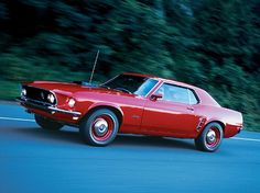 1969 Ford Mustang Super Cobra Jet - Super Coupe