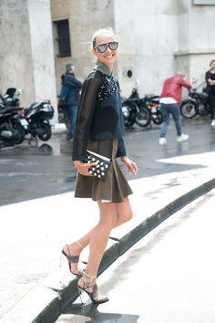 Street Style Moda Alta Costura Otono Invierno 2014   Galería de fotos 1 de 62   Vogue México