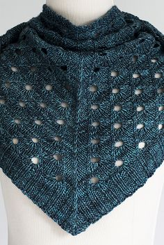 Cathedral Scarf/Shawl By Marjorie Dussaud - Purchased Knitted Pattern - (ravelry)