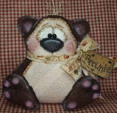 E-Pattern Brownie the Bear Pattern 206 por GingerberryCreek