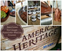 Discovering the American Heritage Chocolate Making Process at Thomas Jefferson Monticello #chocolatehistory