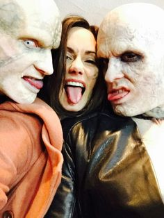 The Strain: Playful cast members
