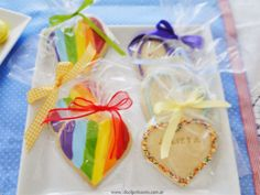 Ideal Patisserie: Candy Bars rainbow sweet heart