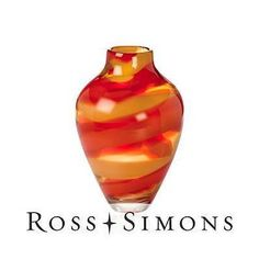 Waterford Crystal Evolution Red Sea Vase