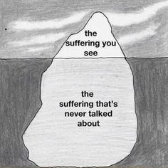 #BellLetsTaIk just because you can't see it, doesn't mean it's not there. there could be a war inside anyone's mind