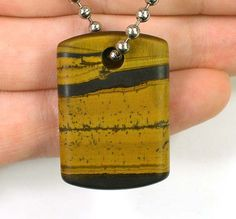 DVH South African Scenic Banded Tigerseye by DVHdesignsLAPIDARY, $18.88