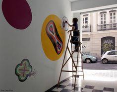 Ludus, mural. Gnomo, Valencia. Ima Picó ©