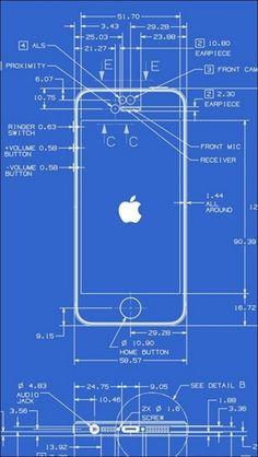 Blueprint of iPhone Mais