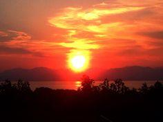 Gardasee Italien 2015 Sonnenuntergang