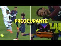 A lesão de Neymar preocupa  PSG para jogo com Real Madrid e Seleção Bras...