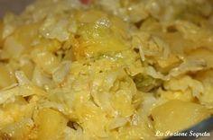 La Pozione Segreta: Verza e patate al forno http://lapozionesegreta.blogspot.com/2016/10/verza-e-patate-al-forno.html