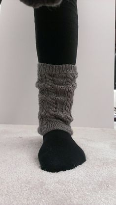 Ravelry: Cabled Leg Warmers & Boot Cuffs pattern by Mockingbird Knits