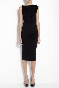 Joseph - Black Perry Wool Dress