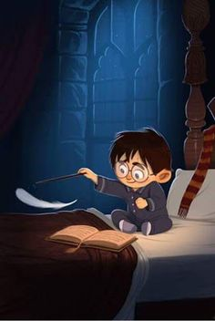Image discovered by rose. Find images and videos about harry potter, magic and hogwarts on We Heart It - the app to get lost in what you love. Harry Potter Fan Art, Harry Potter Universe, Mundo Harry Potter, Cute Harry Potter, Harry Potter Drawings, Harry Potter Fandom, Harry Potter World, Harry Potter Cartoon, James Potter