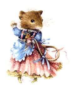 Vera The Mouse - Artist Marjolein Bastin