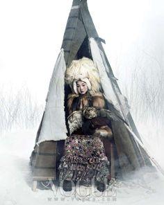 Vogue Korea 'Queen of Snow'