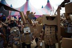 cardboarders.com cardboard artists lowlands