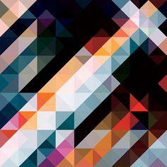 triangles, bright neutrals