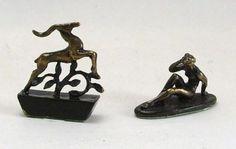 Seated Bather & Gazelle - £76 each
