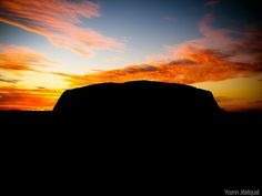 Uluru, Australia by Zeeyolq Photography, via Flickr