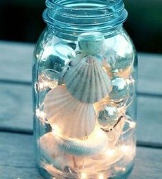 Add a beach vibe to your home with these coastal DIY home decor ideas. From seashell wall art to DIY sea glass, there are plenty of beach house decor ideas to choose from. There are DIY coastal decorations for your living room, bedroom, bathroom, dining room, porch and much more. Driftwood Candle Holders, Seashell Candles, Seashells, Coastal Art, Coastal Homes, Handmade Home, White Spray Paint, Pottery Barn Inspired, Burlap Fabric