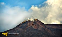Der Hauptkrater des Vulkan Ätna http://www.sizilien-etna.de/2015/07/vulkan-aetna.html