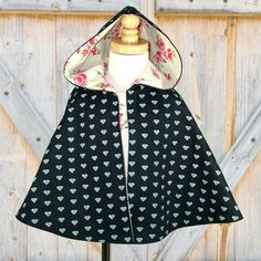 Childrens sewing pattern PDF, Costume, Cape pattern, Children Kids clothing, Girls Jacket, Maisie Cape