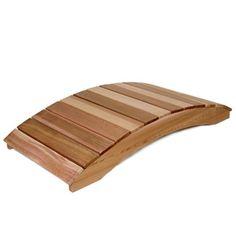 Have to have it. All Things Cedar Fillmore 6-ft. Cedar Garden Bridge - $229.98 @hayneedle.com