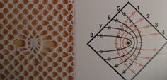 A Bobbin Lace Lover: Arañas con corona