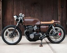 Want!!  1978 Honda CB750 Espresso Cafe Racer