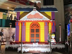 Christmas Decoration at Cosmos mall...Visit your favorite mall this festive season..