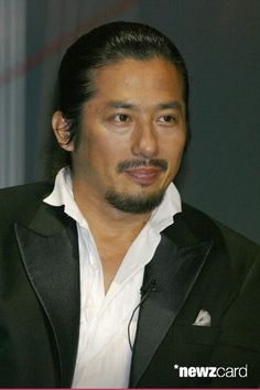 Japanese actor Hiroyuki Sanada attends a press conference for the film 'Last Samurai' August 28, 2003 in Tokyo, Japan. (Photo by Junko Kimura/Getty Images)