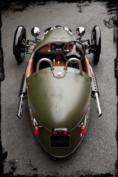 Morgan New 3 Wheeler to debut at Geneva