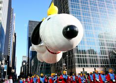 We are celebrating by eating turkey 🍗, cheering for football 🏈 and watching parades across the 🎉 Pictured here: the Thanksgiving Day Parade, an tradition since 📷: Thanksgiving Day Parade, Happy Thanksgiving, Nyc Go, Usa Pictures, I Love Ny, Cheer, Parade Floats, Turkey, Football