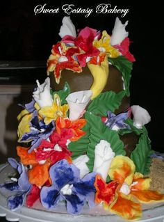 HAWAIIAN WEDDING CAKES - Google Search