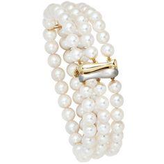 Dreambase Damen-Armband Perlen ca. 6,5 - 7 mm %C3%98 14 Karat (585) Gelbgold Akoya-Zuchtperle 19.5 cm Dreambase http://www.amazon.de/dp/B00EYH5W6W/?m=A37R2BYHN7XPNV