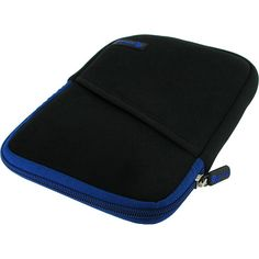 Roocase Super Bubble Neoprene Universal Tablet Sleeve For Fire Hd 7,... (1.370 RUB) ❤ liked on Polyvore featuring bags, blue, business, laptop sleeves, tablet bag, pocket bag, tablet sleeve, zip bag and mini zip bags