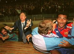 Johan Cruyff e Romario