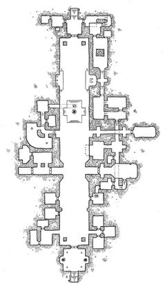 [Friday Map] The Great Hall of Gruthren the Excessive
